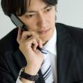 電話インタビュー