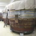 私市醸造木桶