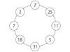 数楽パズル-円