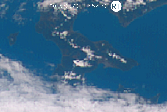 津軽海峡雲