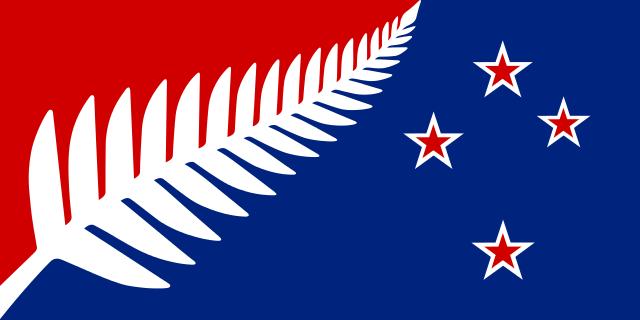 ニュージーランド国旗次点