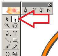 cs2葉っぱ修正ダイレクト選択ツール