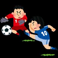 サッカーキック