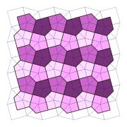 正五角形で平面を敷き詰めることはできる?できない?